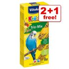Vitakraft Budgies Crackers Trio-Mix - 2 + 1 Free!*