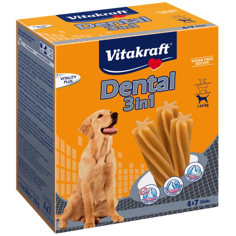Vitakraft Dental 3in1 medium Multipack
