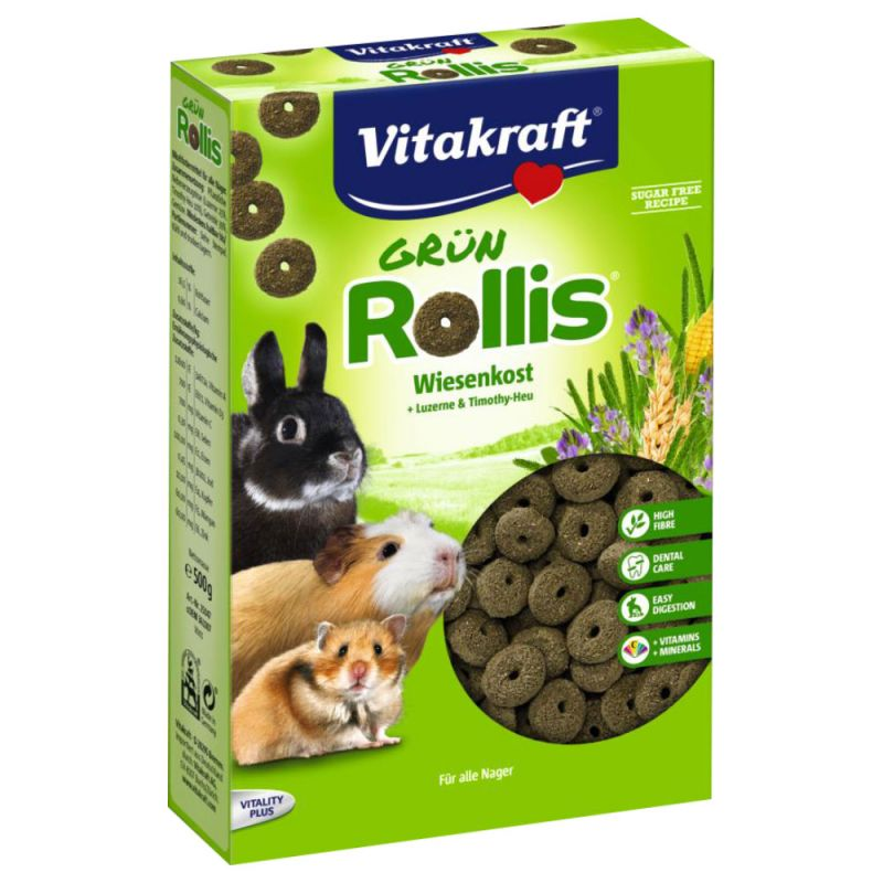 Vitakraft Green Rollis 500 g