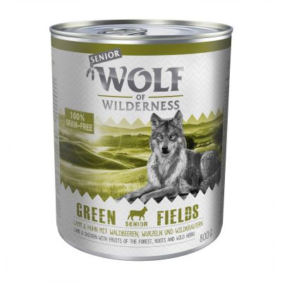 Voordeelpakket Wolf of Wilderness Senior 12 x 800 g