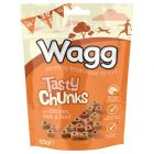 Wagg Tasty Chunks Treats - Chicken, Ham & Beef