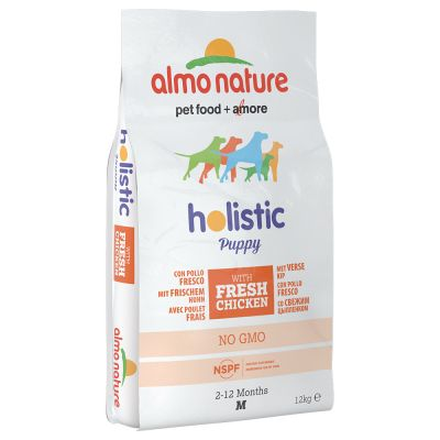 Welcome Kit Puppy & Junior Almo Nature Holistic + Hunter Calcium Milk Bone