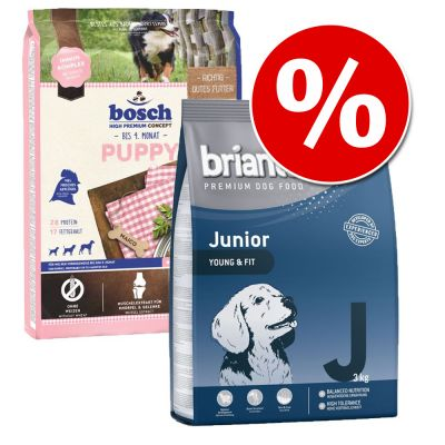 Welcome Kit Puppy & Junior per cuccioli Briantos Junior & bosch HPC