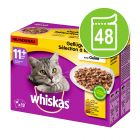Whiskas 11+ Senior 48 x 100 g