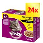 Whiskas Senior 7+ saszetki, 24 x 100 g