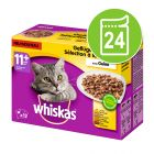 Whiskas 11+ 24 x 100 g pour chat