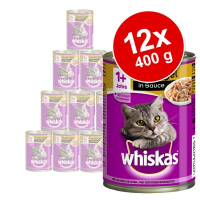 Whiskas Adult, puszki, 12 x 400 g