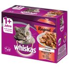 Whiskas 1+ Adult Ragout 12 x 85 g