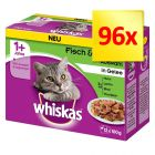 Whiskas 1+, adulte 96 x 100 g