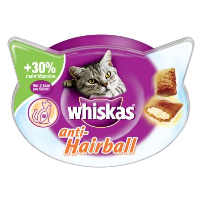 Whiskas Anti-Hairball snacks para las bolas de pelo