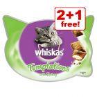 Whiskas Cat Treats - 2 + 1 Free!*