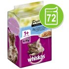 Бонус опаковка Whiskas Fresh Menue 72 x 50 гр