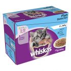 Whiskas Junior i portionspose 48 x 85 g / 100 g