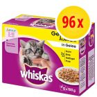 Whiskas Junior 2-12 meses 96 x 100 g en bolsitas