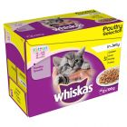 Whiskas Junior 2-12 meses 12 x 100 g en bolsitas