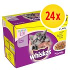 Whiskas Junior 2-12 meses 24 x 100 g en bolsitas