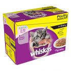Whiskas Junior portionspåsar 12 x 85/100 g