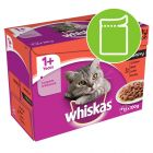 Whiskas 1+ Pouches in Gravy
