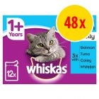 Whiskas 1+ Pouches Multibuy 48 x 100g