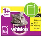 Whiskas 1+ Poultry Selection in Gravy