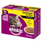 Whiskas Senior 7+  portionspåse 12 x 100 g