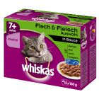 Whiskas 7+ Senior Porsjonsposer 12 x 100/85 g g