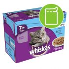 Whiskas 7+ Senior Pouches in Jelly