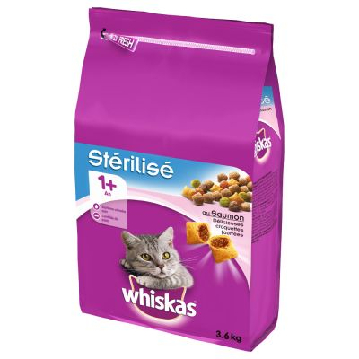 Whiskas Sterile Adult 1+ Zalm