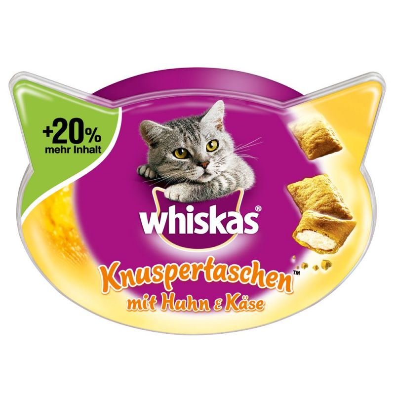 Whiskas Temptations + 20 % mer innehåll