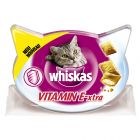 Whiskas Vitamin E-Xtra +30% mais vitaminas snacks para gatos