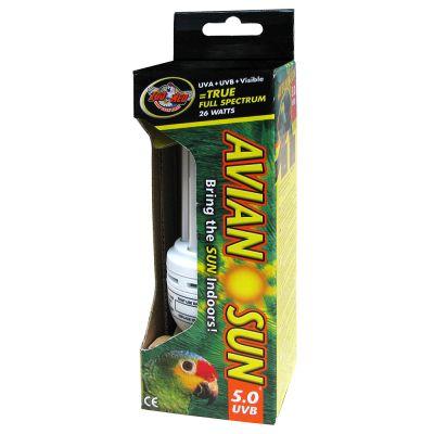 świetlówka Dla Ptaków Aviansun 50 Uvb Compact Fluorescent