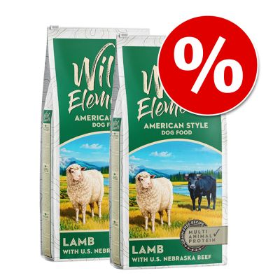 Wild Elements Ração 2 x 12 kg - Pack económico