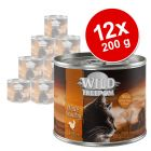 Wild Freedom Adult 12 x 200 g - Pack económico