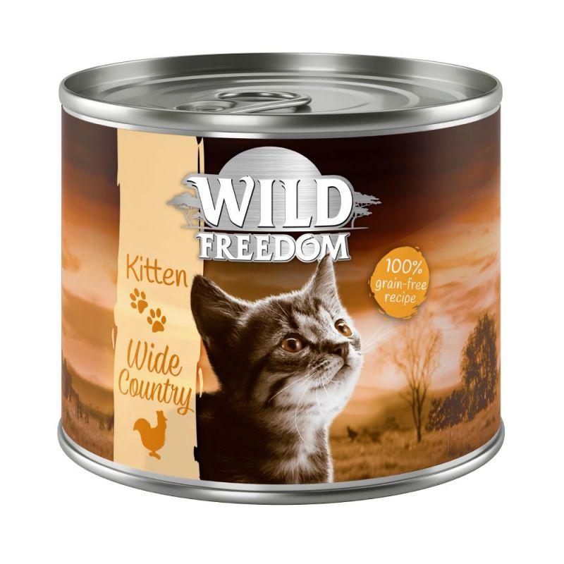 Wild Freedom Kitten Wide Country – Veal & Chicken
