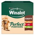 Winalot Perfect Portions - Meat in Gravy