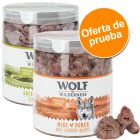 Wolf of Wilderness snacks liofilizados premium - Pack de prueba mixto con dos variedades