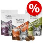 Wolf of Wilderness Wild Bites  - Pack Ahorro 3 x 180 g