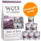 Wolf of Wilderness Adult 12 kg suhe hrane + mokra hrana