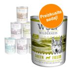 Wolf of Wilderness Adult mešano pakiranje 6 x 800 g / 400 g