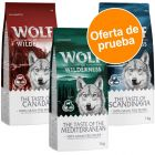 Wolf of Wilderness Adult The Taste Of 3 x 1 kg - Pack de prueba
