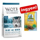 Wolf of Wilderness + Barkoo Dental medium snack ingyen!