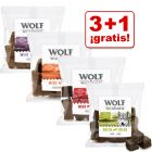 Wolf of Wilderness bocaditos de carne en oferta: 3 + 1 ¡gratis!