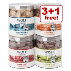 Wolf of Wilderness Freeze-dried Premium Dog Snacks - 3 + 1 Free!*