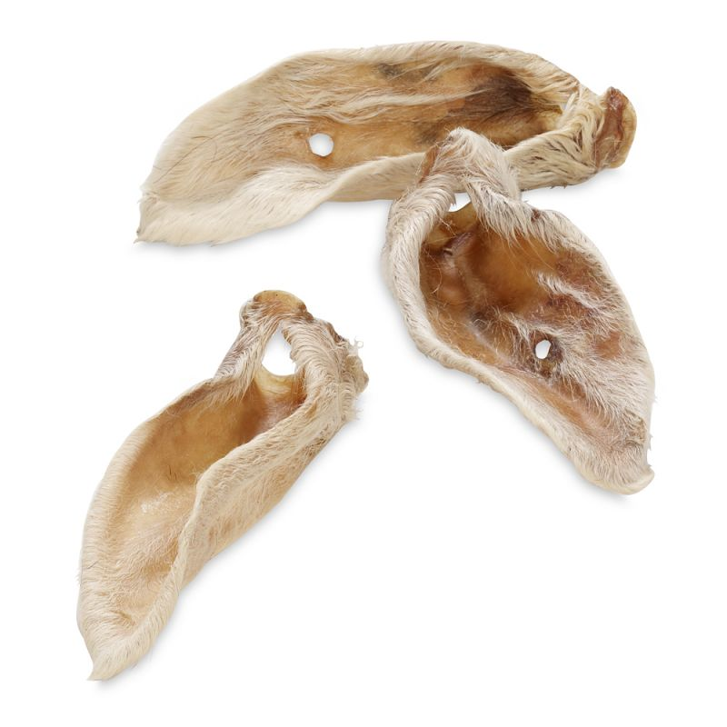 """Wolf of Wilderness """"Green Fields"""" – Dried Lamb Ears with Fur"""