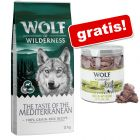 Wolf of Wilderness: 12 kg granule + pamlsek zdarma!