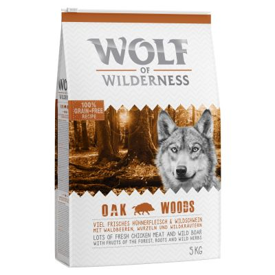Wolf of Wilderness Oak Woods con jabalí