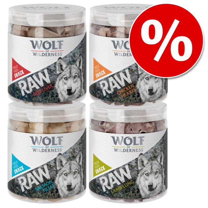 Wolf of Wilderness - RAW Freeze-dried Snacks Saver Packs
