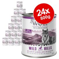 Wolf of Wilderness Senior Saver Pack 24 x 800g