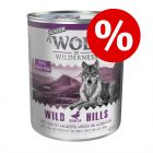 Эконом упаковка Wolf of Wilderness Senior 12 x 800 г