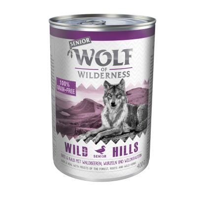 Wolf of Wilderness Senior 6 x 400 g